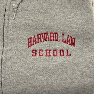 Jansport | Harvard Law School Zip Up Sweatshirt